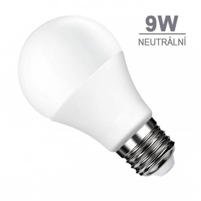 LED21 LED žárovka 9W 18xSMD2835 806lm E27 Neutrální bílá